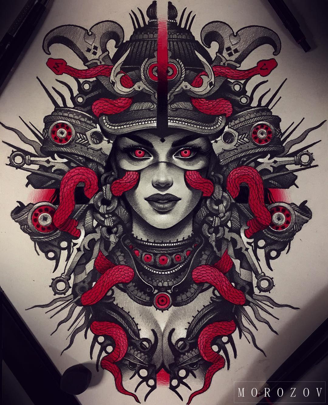 "10.6k Likes, 109 Comments - Vitaly Morozov (@mvtattoo) on Instagram: ""Available for tattoo tattoomv@gmail.com/эскиз свободен tattoomv@gmail.com…"""