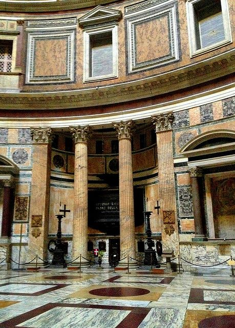 Inside the Pantheon, Rome