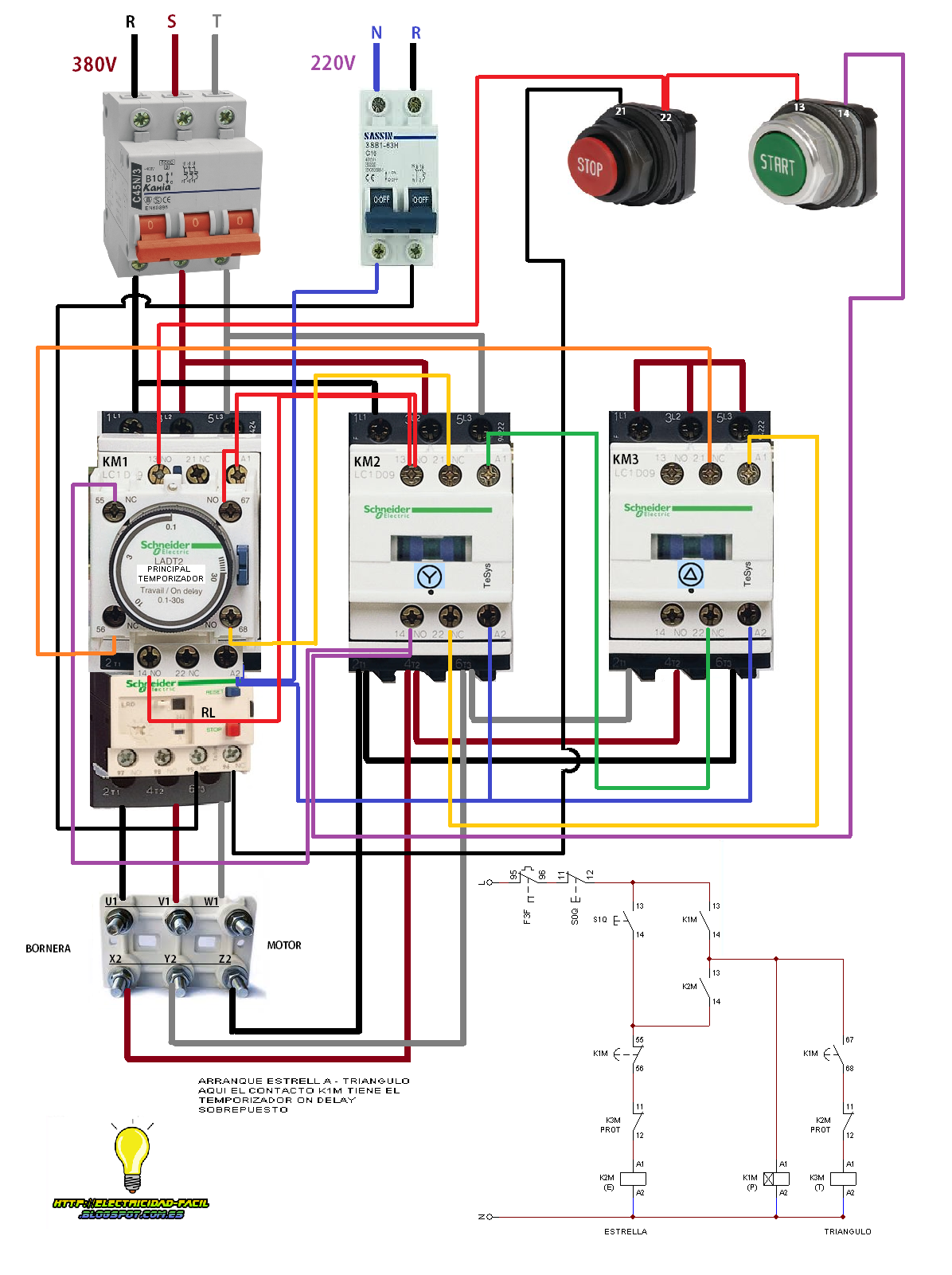star delta control panel wiring diagram element particle pin by luis on electrcal pinterest electrical