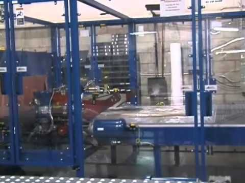 SV148 Inline Automatic 66 12 with Infeed Conveyor Auto Side Seals   Wrapping Window Screens