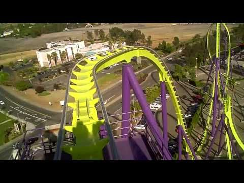 Medusa Six Flags Discovery Kingdom In Hd Six Flags Roller Coaster Discovery