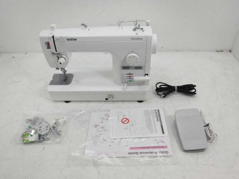 Brother PQ40SL High Speed Quilting And Sewing Machine For Parts Mesmerizing Brother Pq1500sl Sewing Machine