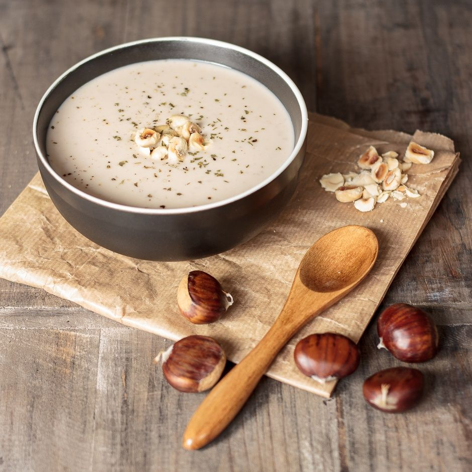 Crema de casta as vegana receta la bienvenida el for Comida rapida y calentita