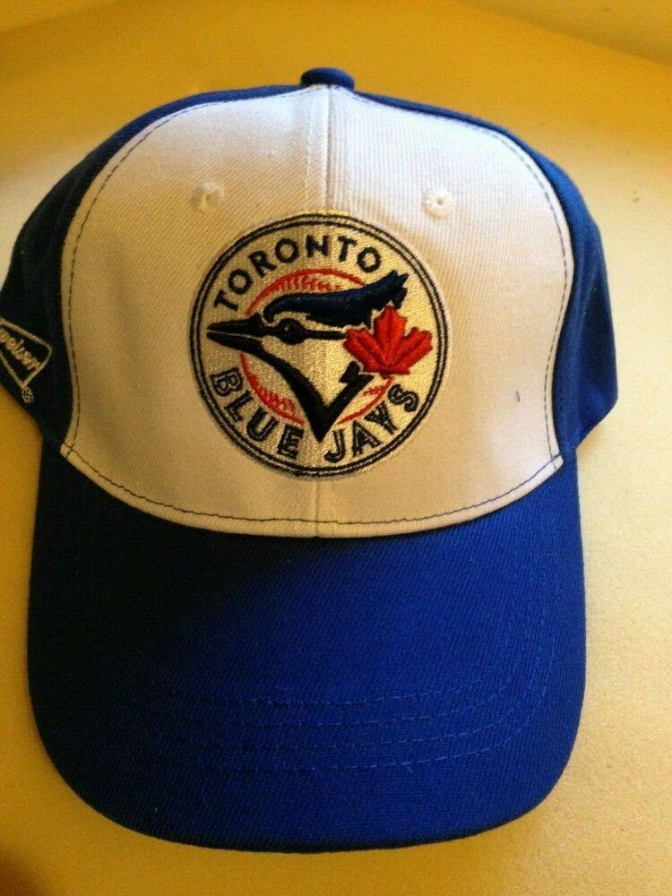 f9f4fa1f TORONTO BLUE JAYS BUDWEISER BLUE WHITE HAT BASEBALL MLB RARE #BUDWEISER