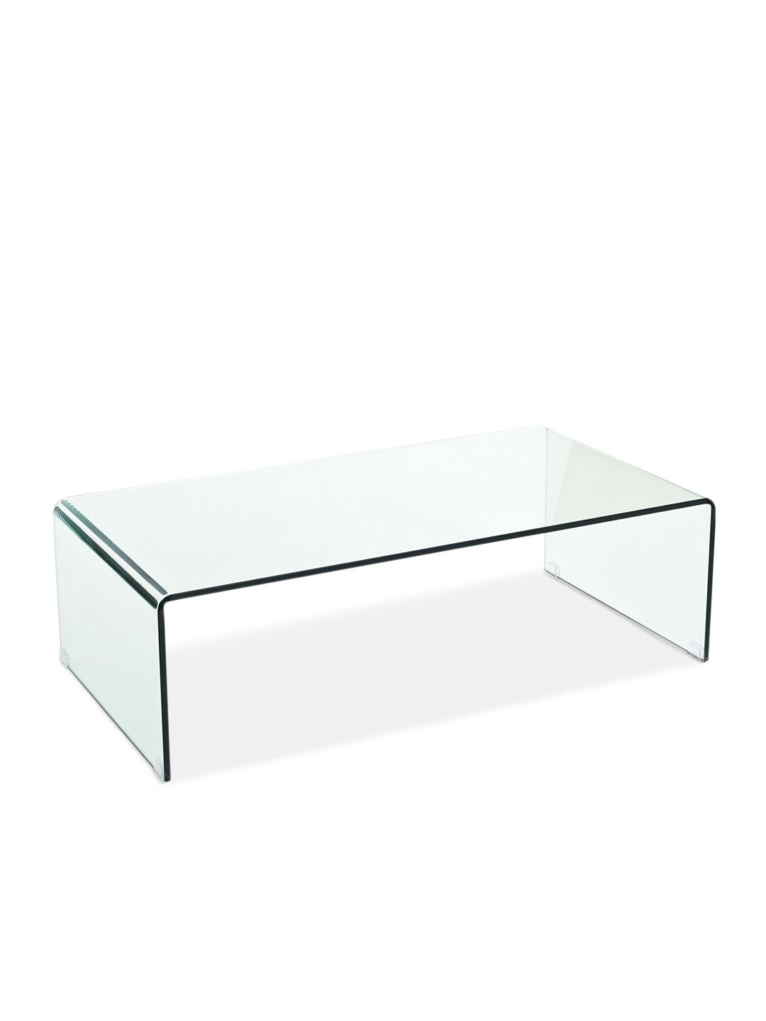 transparent coffee table by pearl river modern ny at gilt  - transparent coffee table by pearl river modern ny at gilt