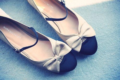 ballet flats, chanel, cute, fashion, flats - inspiring
