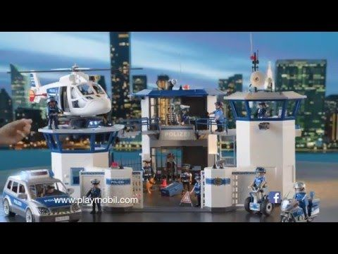 playmobil policia police polizei city action anuncio tv. Black Bedroom Furniture Sets. Home Design Ideas