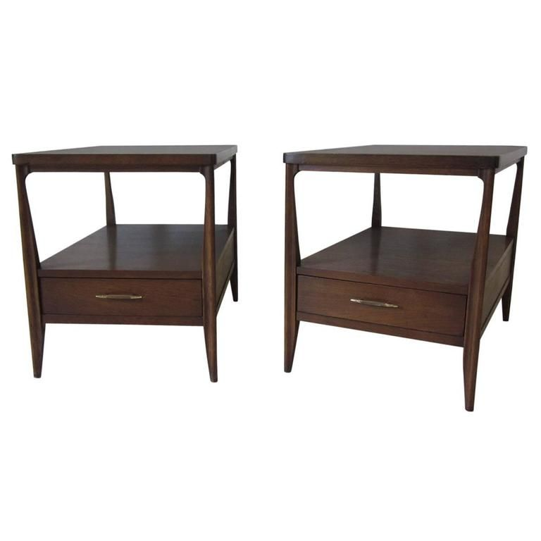 Best Edward Wormley Nightstands End Tables American Mid 400 x 300