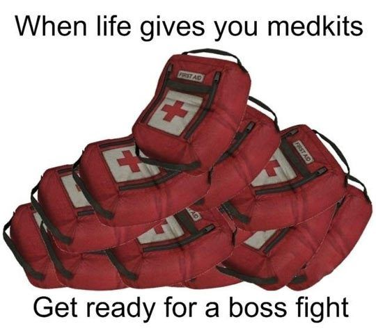 When life gives you medkits…
