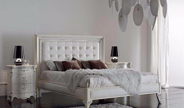 Roskoshnaya Belaya Spalnya King Bedroom Furniture Modern Bed Bed
