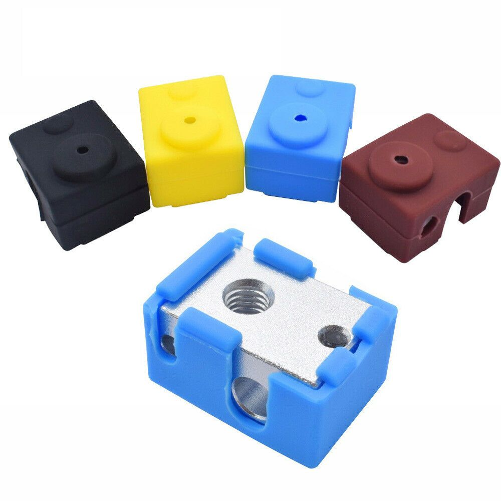 Silicone Heated Block Sock HotEnd Cover Case For 3D Printer E3D V6 Extruder