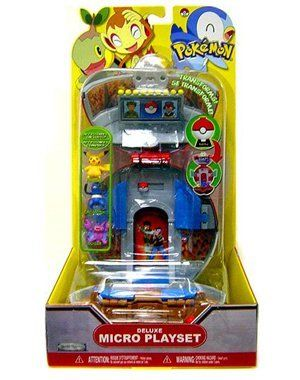 Pokemon Deluxe Micro Playset Battle Stadium with Pikachu, Croagunk and Gligar by Jakks. $39.95