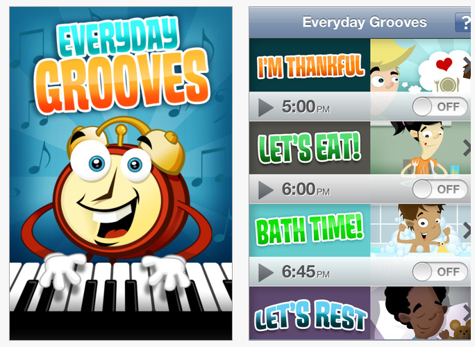 Everyday Groove App From The Fred Rogers Center At St Vincent College Provides Musical Prompts For Routines A Prompts App Musicals
