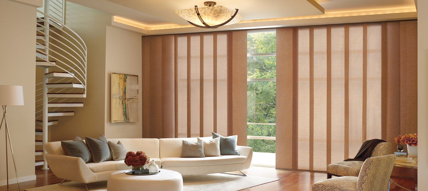 Hunter Douglas Skyline Gliding Window Panels Are Beautiful Coverings That Provide Exceptional Shade From Fort Collins To Boulder Denver
