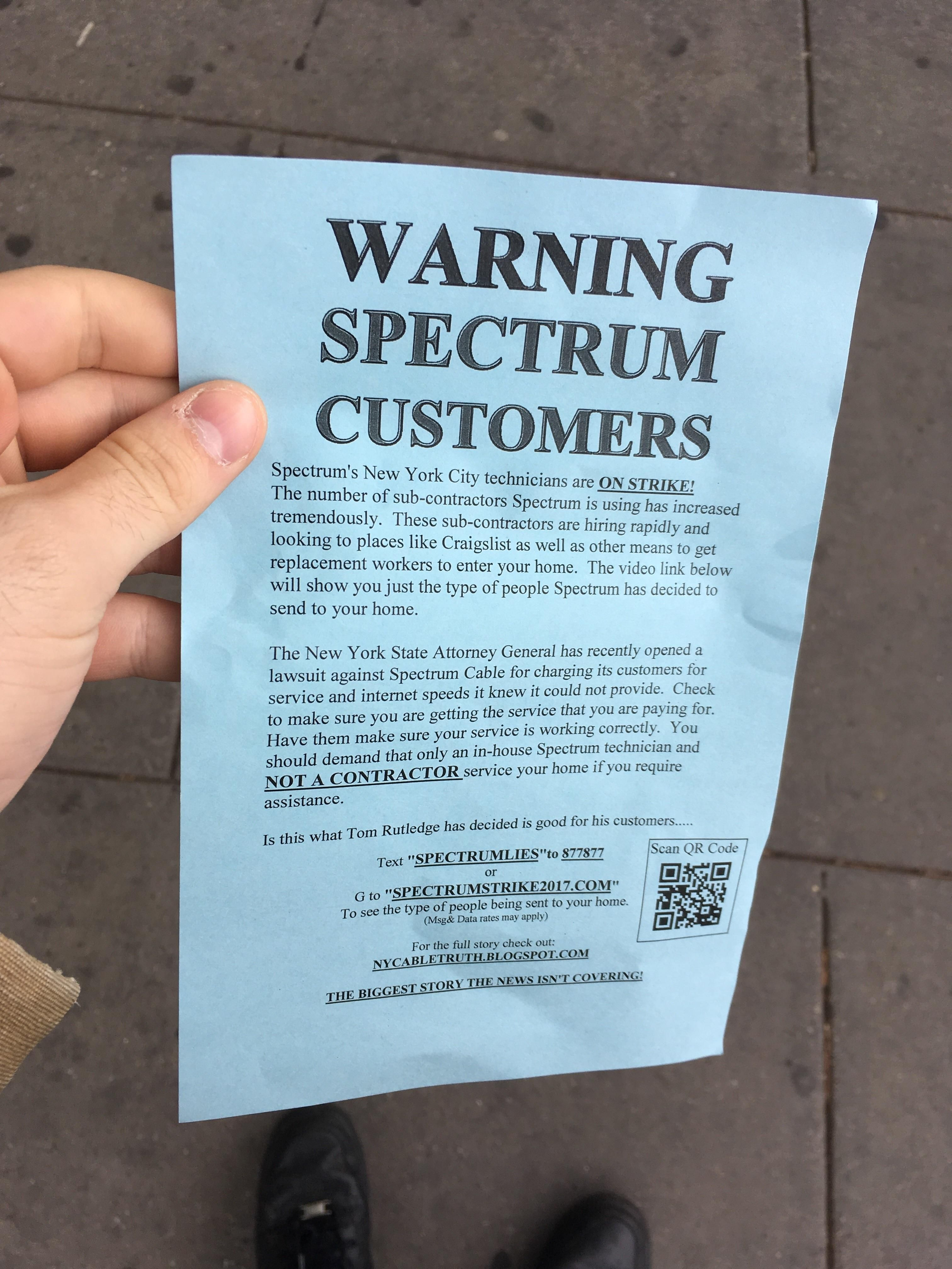 Look At What I Got Handed On The Streets Of Nyc Today Was Expecting An Advert For A New Restaurant Until I Read