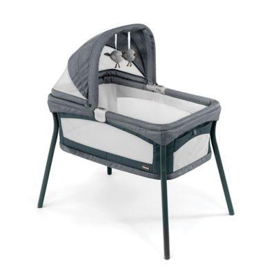 Chicco Lullago Nest Portable Bassinet In Poetic Grey