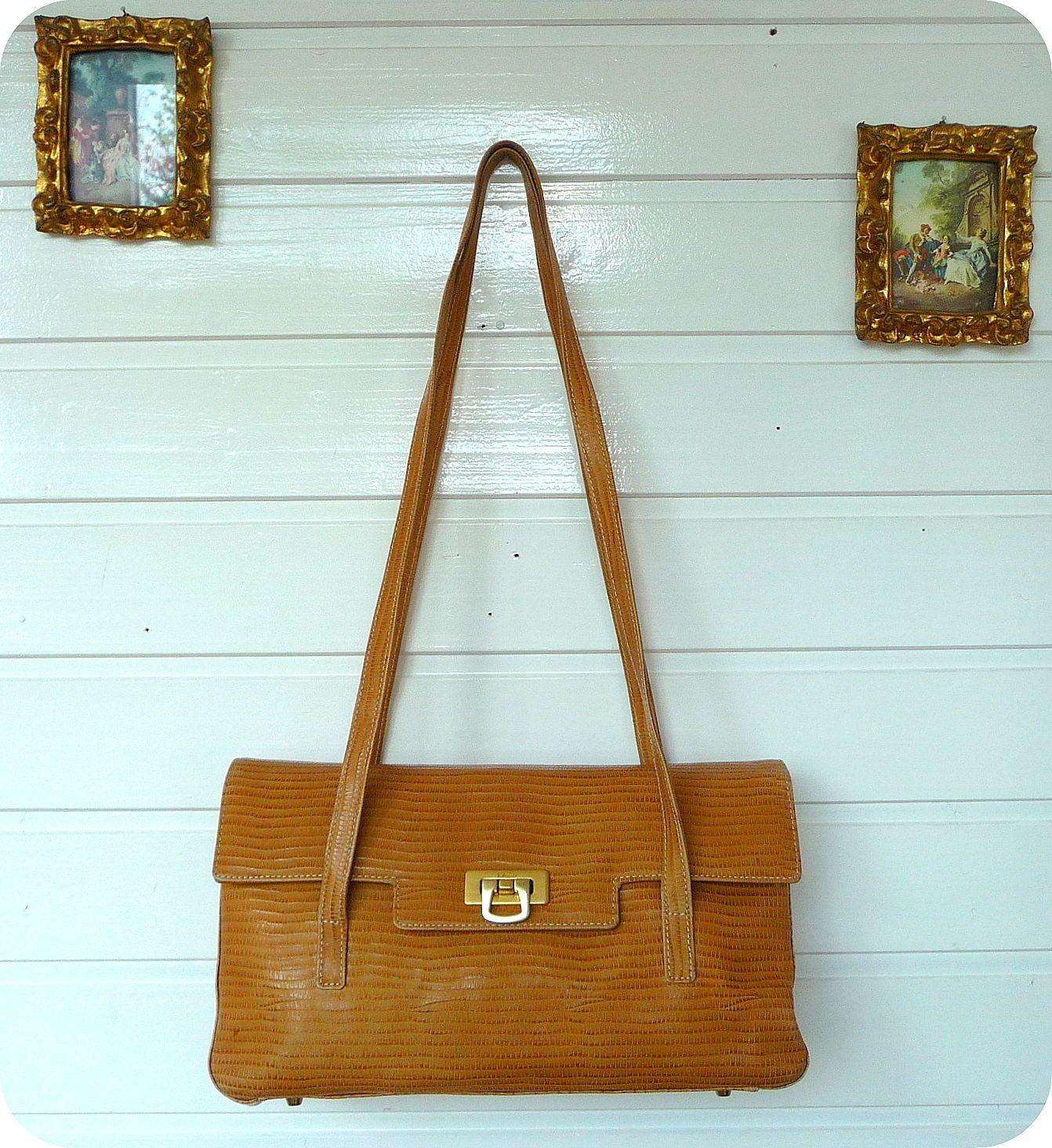 91c0c5bfb3ef2 Luxus MEDICI Leder Schultertasche Tasche Leather Bag Handtasche Borsa  Schlange
