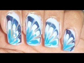 DIY WATER MARBLE NAIL ART WITHOUT