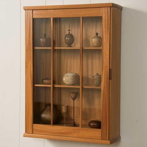 Wall Hung Display Cabinet