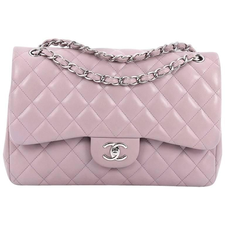 0c49e2a2a Chanel Classic Double Flap Bag Quilted Lambskin Jumbo | HandBags in ...