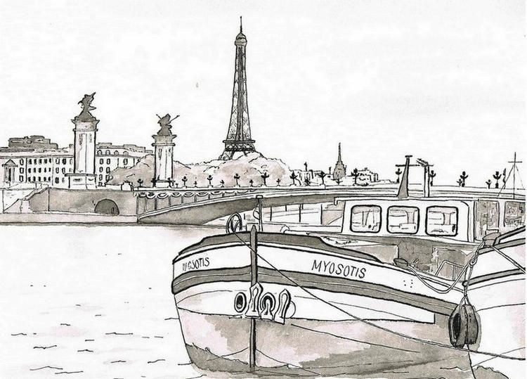 Read moreThe Seine Paris Coloring Pages | Paris, Coloring ...