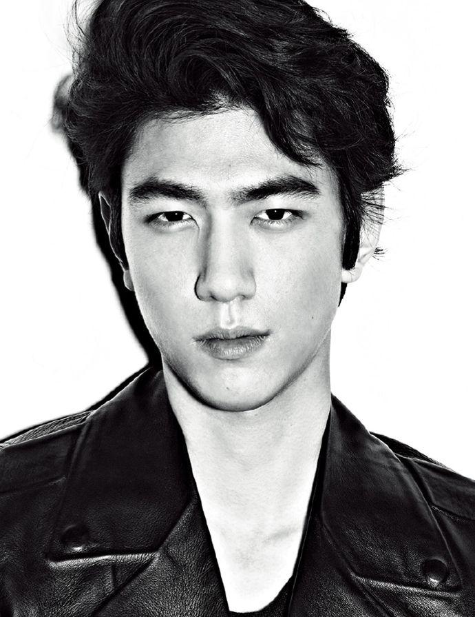 Bang Sung Joon in High Cut's Vol. 122