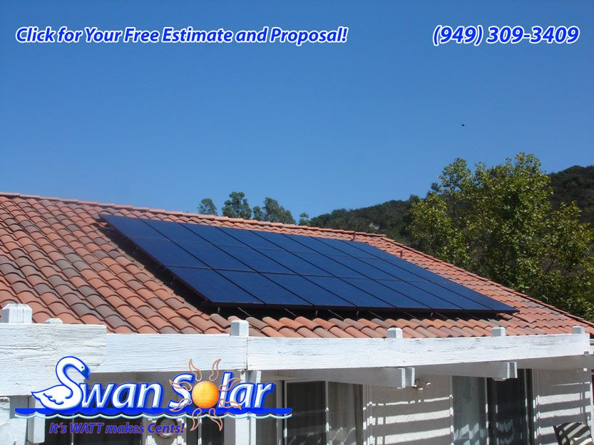 Solar Photovoltaic Systems Panels Mission Viejo Ca This Solar Photovoltaic System Has 24 Solar Panels With A Solar Photovoltaic System Solar Roof Solar Panel