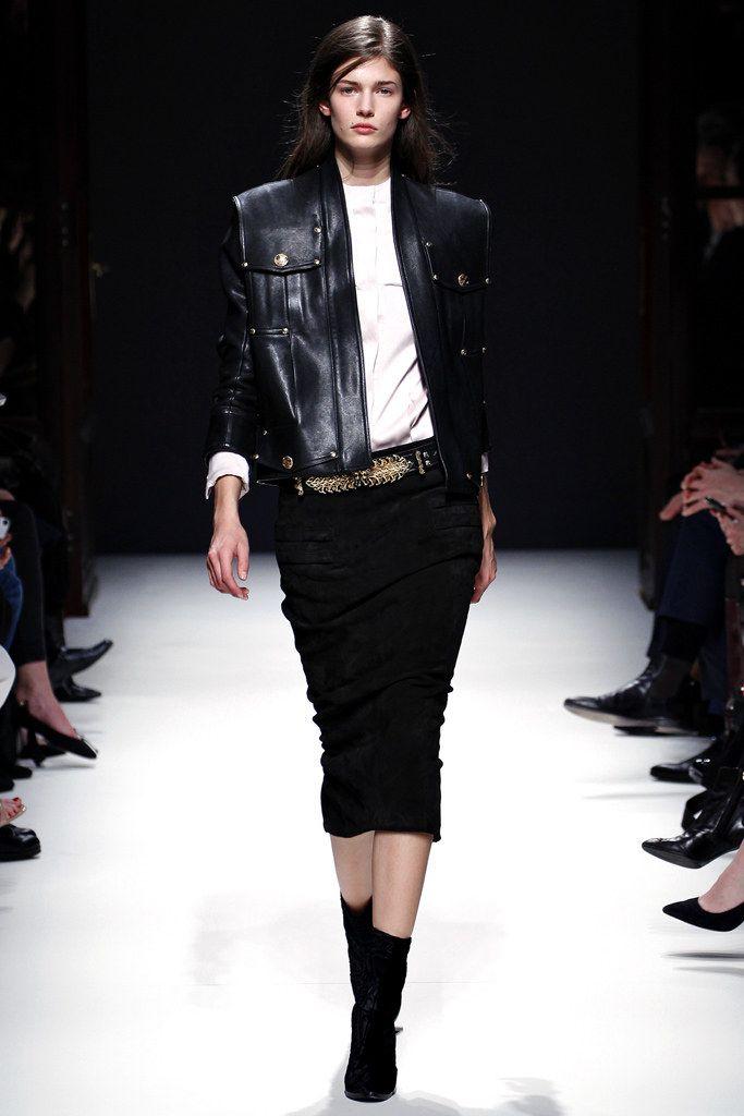 Balmain Fall 2012 Ready-to-Wear Fashion Show - Nadja Bender