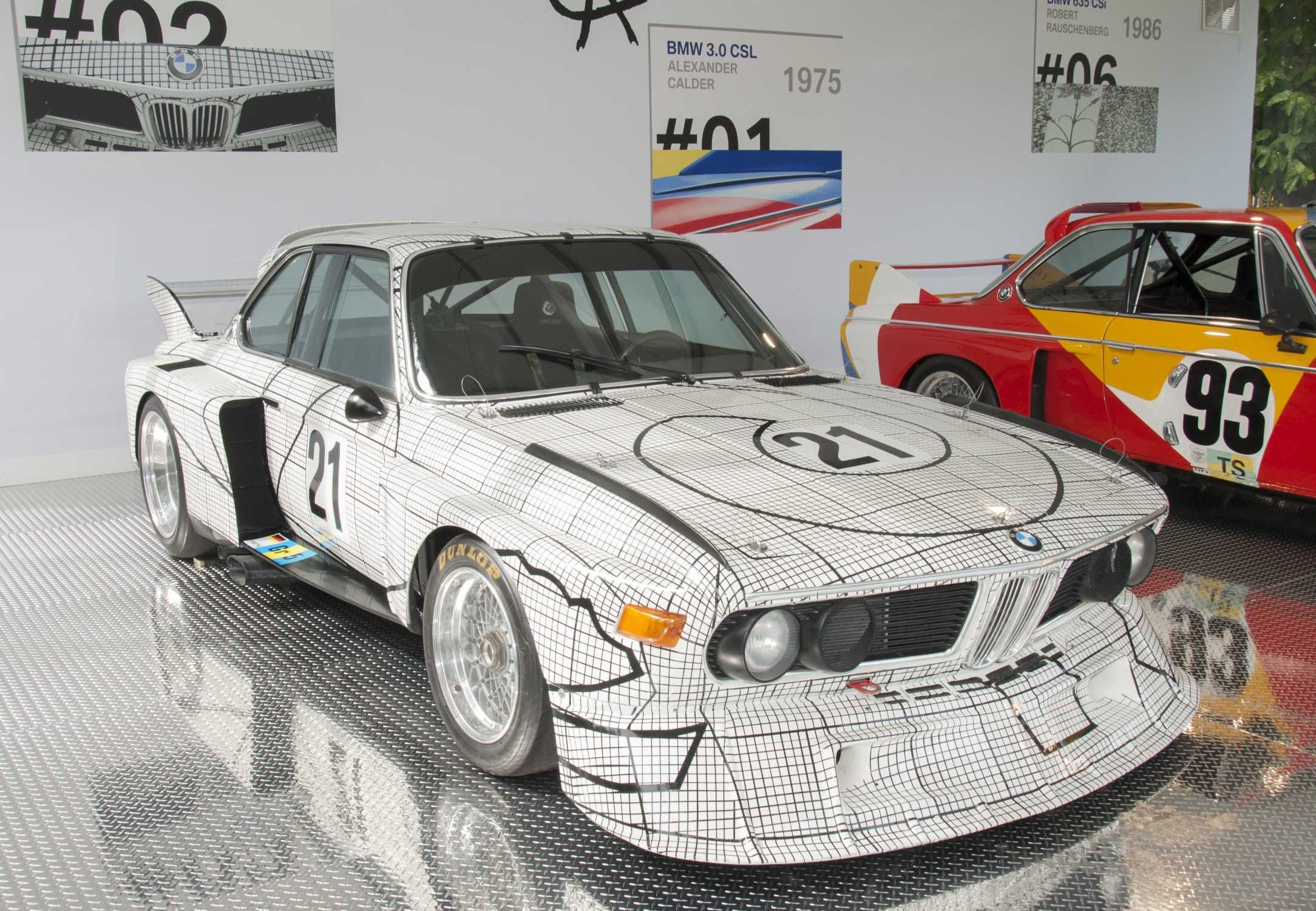 Bmw Csl Turbo Group Race Car Art Car By Frank Stella