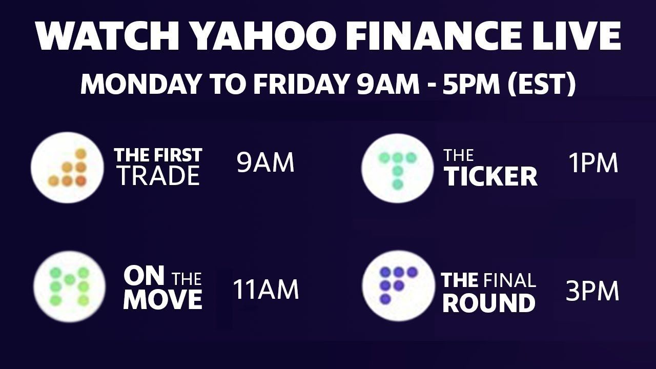 Live Market Coverage Wednesday July 15 Yahoo Finance In 2020