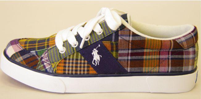 Ralph Lauren Polo Plaid Shoes · Fresh