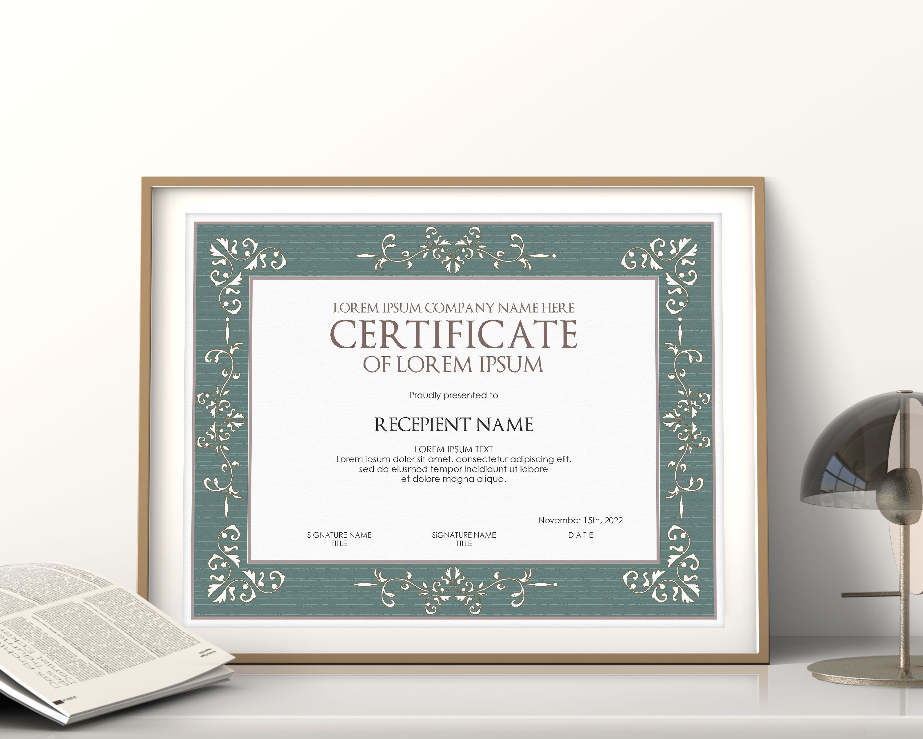Pin On The Best Certificate Templates
