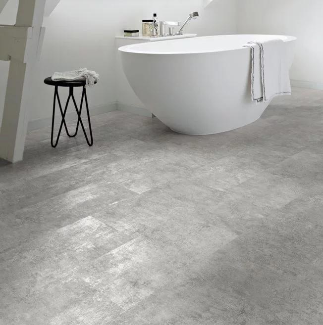 Polyflor Camaro Loc Grey Flagstone Vinyl Flooring in 2020