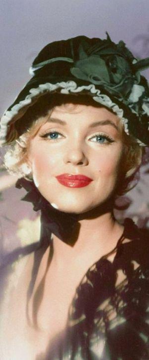 Marilyn. Photo by Jack Cardiff, 1956.