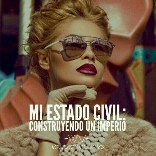 Mi estado civil: Construyendo un imperio