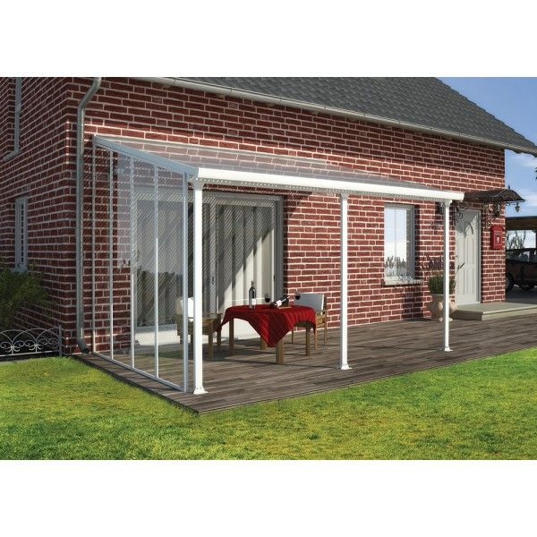 Visit The Home Depot To Palram Lications Patio Cover Side Wall 701694