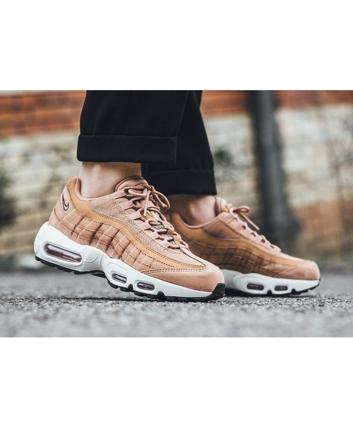 Nike Air Max 95 Dusted Clay Black Sail Sneakers | nike shoes