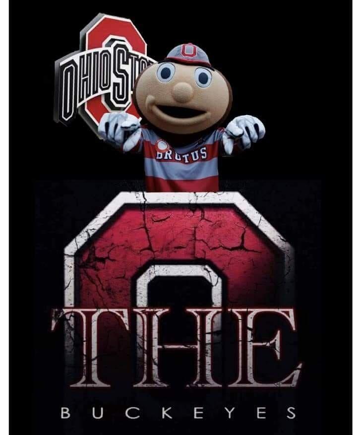The Ohio State Buckeyes with Brutus #ohiostatebuckeyes