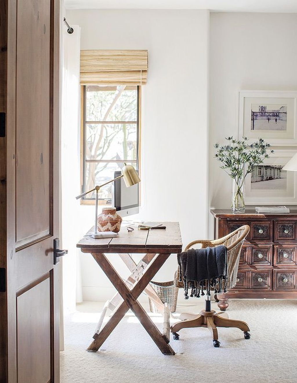 38 Splendid Spring Home Office Decoration Ideas In 2020 Home