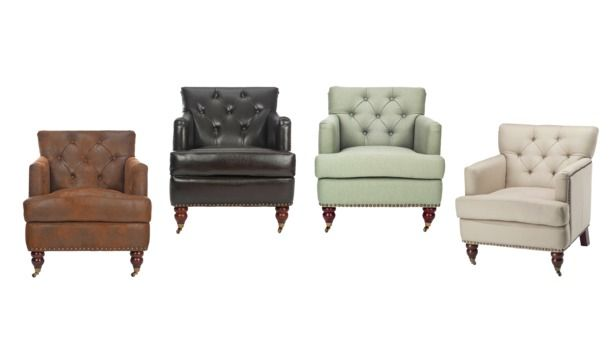 Safavieh Colin Tufted Club Chair Collection, Target