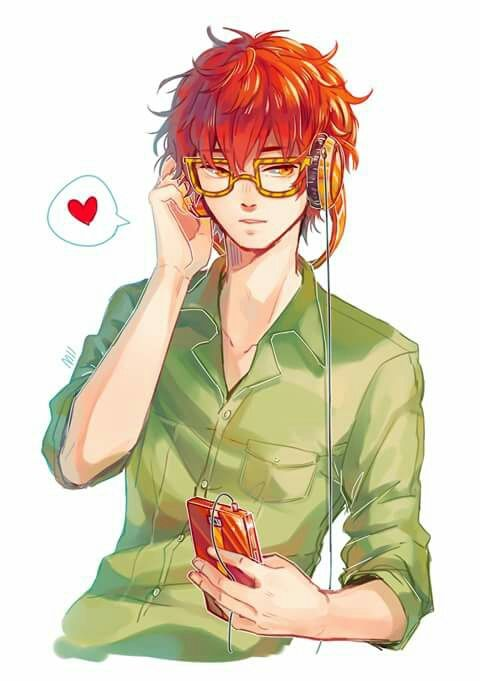 Image about mystic messenger in Anime Guys 😍💖 by Shorty18045