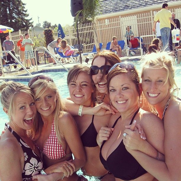 Put N Bay Parties : One of the great pools at put in bay ohio summer fun
