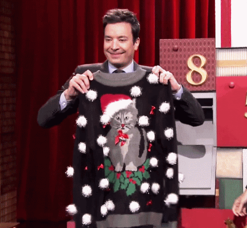 Jimmy Fallon Christmas Sweaters.The Tonight Show Starring Jimmy Fallon The Tonight Show