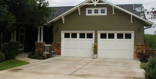 Traditional Craftsman Style Garage Doors By A And J Garage Doors