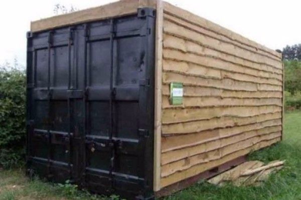 Top 10 Things Repurposed And Recycled To Make A Shed Shipping Container Sheds Building A Container Home Container House