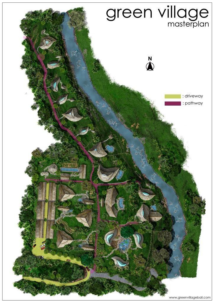 Lotus Lake Resort Master Plan Resort Plan Resort Design Resort