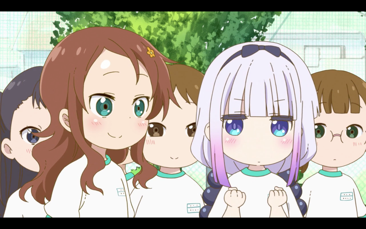 Kanna Kamui Riko Saikawa Kobayashi San Chi No Maid Dragon 1x09 Anime Icones Fofos