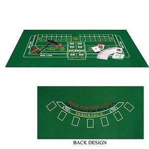 Blackjack Craps Set Casino Party Games Home Casino Kit