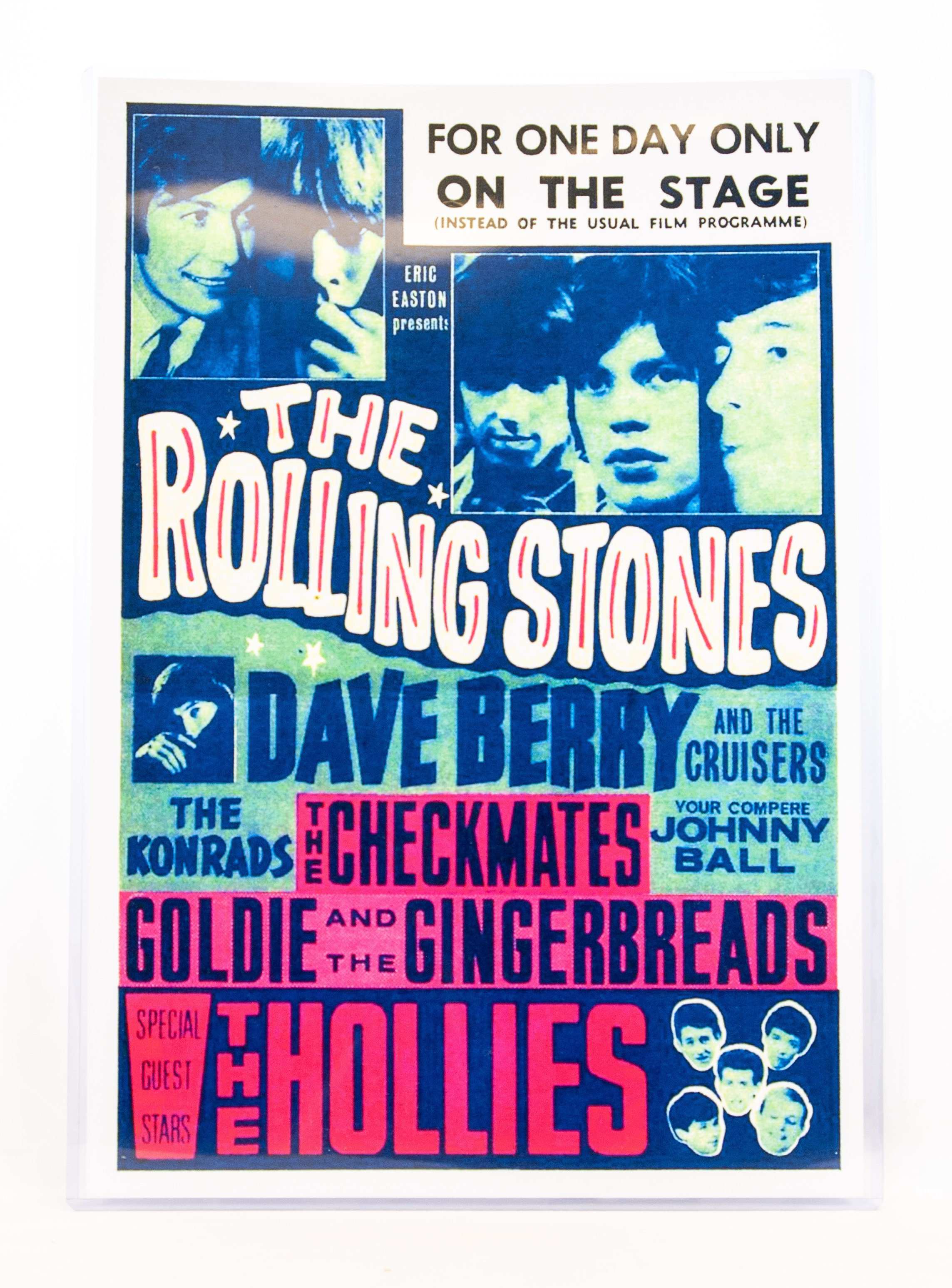 Print Rolling Stones One Day Vintage Music Posters Vintage Concert Posters Concert Posters