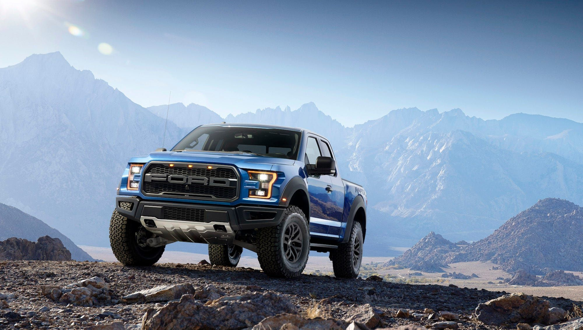 Kanye West Has A Fleet Of Ford Raptors That He Drives Around His 14 Million Ranch In Cody Wyoming Here S A Closer Loo In 2020 Ford Raptor Ford Raptor Truck Ford F150